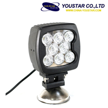 140mm*96mm*180mm 80W LED Driving Light Round Spot High Power 7200lm LED Work Light for 4x4 Off-road Jeep Wrangler