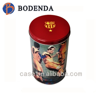 Big round brazil style coffee tin cans