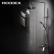 Latest arrival high quality bathroom shower faucet set, rain shower faucet with single handle