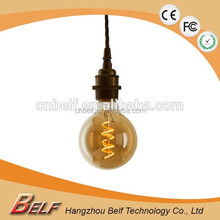 Attractive Design led decorative filament sphere antique edison bulb g95 g125 Dimmable 2700k warm white