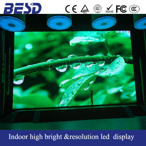 P3 led videotron/ Indoor P4 large led TV/stadium led cube display screen for sale