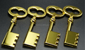 Key shape pendrive metal USB flash drive from Shenzhen