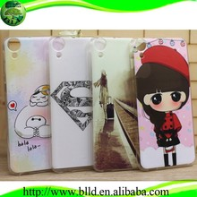 China Supplier Crystal Ultra Slim Clear Soft TPU clear plastic cell phone case for HTC desire D820T
