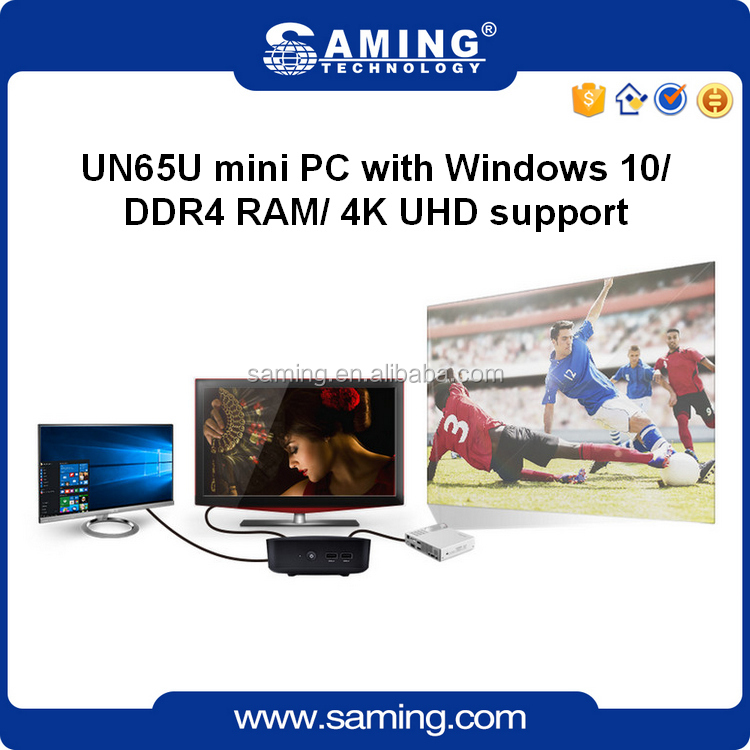 UN65U mini PC/desktop all in on PC with INTEL Core i3-7100U/Intel HD Graphics 620