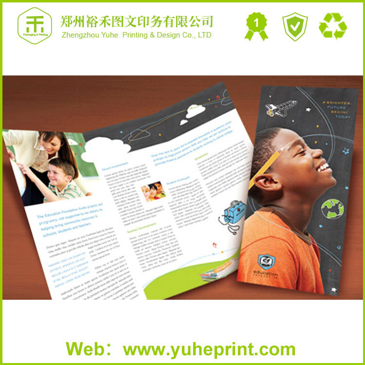 China printing suppiler of full color flyer/leaflet/folding products wholesale fold over yoga pants
