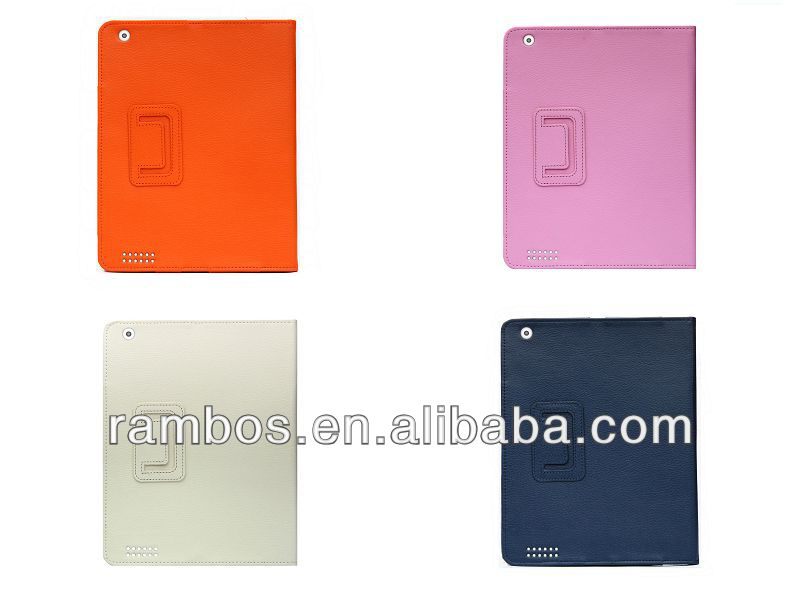 Protector Stand Photo Frame Flip Leather Skin Case for iPad 2 3 4