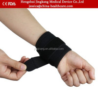 Factory direct self-heating adjustable wrist support belt / Sports pain relief wrist brace / gym wrist wraps