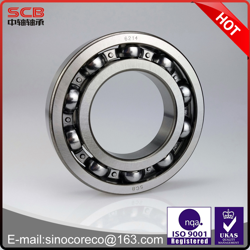 High quality low noise deep groove ball bearing for electric motor ball bearing 6214 70*125*24mm