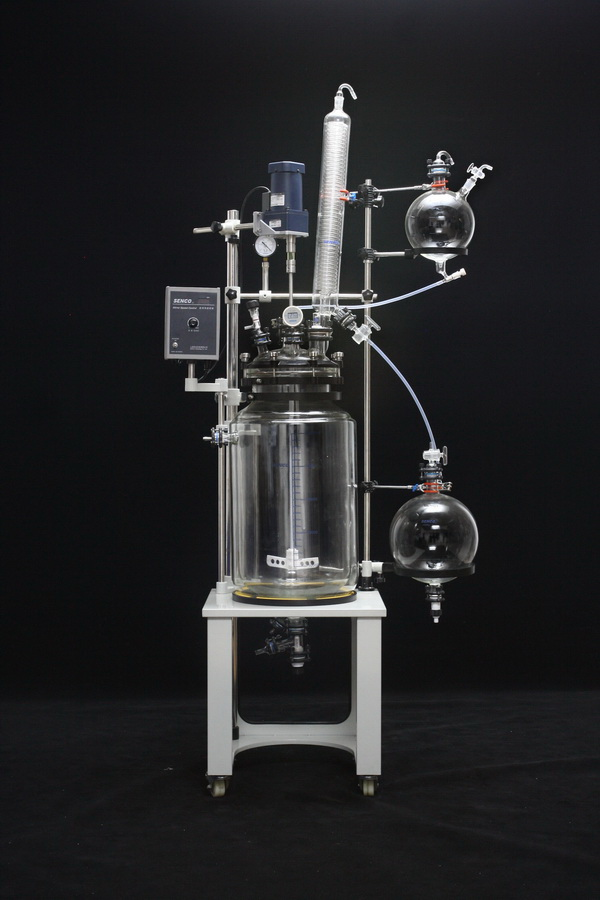 FC5003 50L Cap Style Jacketed Glass Reactor