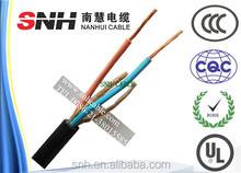 Australia requirement cable plant, 3 core 1.5mm2 flexible cable, 0.5mm copper wire