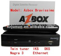 Twin tuner Nagra 3 Azbox fta satellite receiver software download