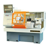 cak series flat bed CAK6136C cnc lathe machine in china