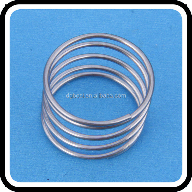 Custom metal auto compression coil constant force extension spiral spring