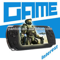 Handy video game player with TF card 4GB game console