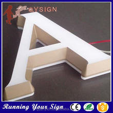 Easy to Install creative moulding Commercial led bank sign