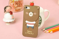 Lovely Romane Hello Geeks Mobile Phone Silicone Case for samsung galaxy s5 s4