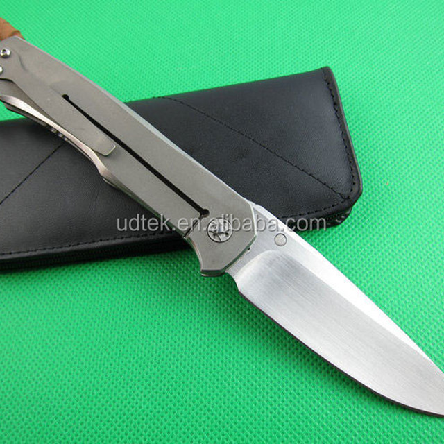 OEM best outdoor survival pocket knife with D2 high speed steel