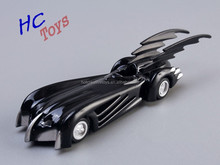 "DC Tomica Limited TC Batman Metal Batmobile Collectible Model Toys 7cm/2.8"" 5pcs/set New in Box"