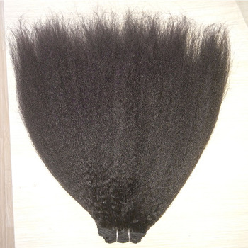 cheap price sassy weave twist mongolian kinky straight tight human hair weaving /extension/meche