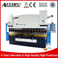 China AccurL hydraulic wc67k U shape bender drawing specification metal plate master press brake machine drawing