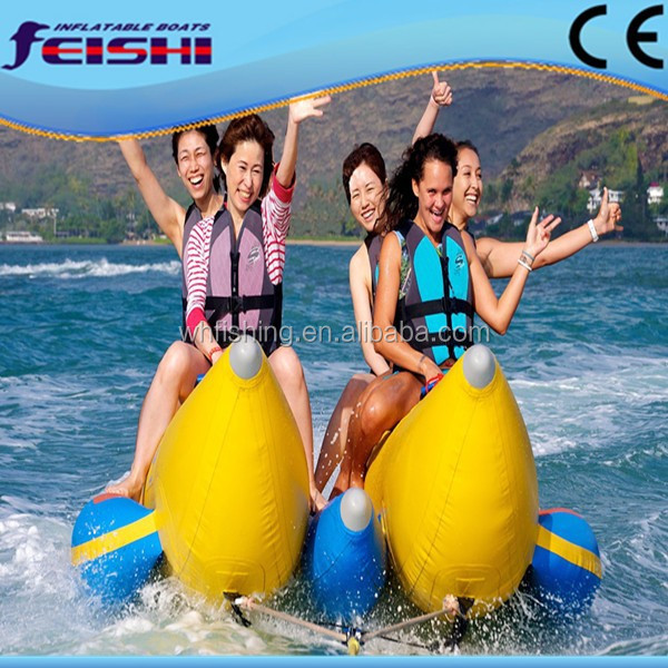 2015 New-Design Top-Quality Low-Price Ocean Rider Banana Boat for Sale