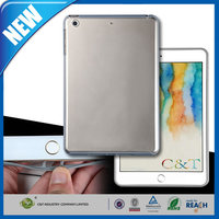 C&T New Arrival clear tpu flexibe fit gel back soft case for ipad mini 3