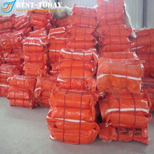 PVC Coated soild float WGB 600 oil spill containment boom