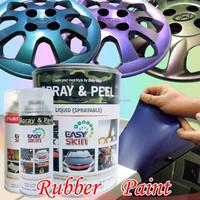 Peelable rubber coating