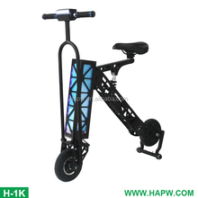 Long range foldable smart e scooter 2 wheel kick scooter adult electric skateboard