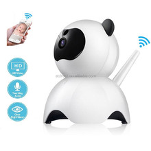 Factory Low Price WIFI Panda Camera Baby Monitor Home Camera Intercom System Two-way Talking Wireless P2P CCTV IP Camera