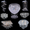 110V Crystal Chandelier Ceiling Lights Amp