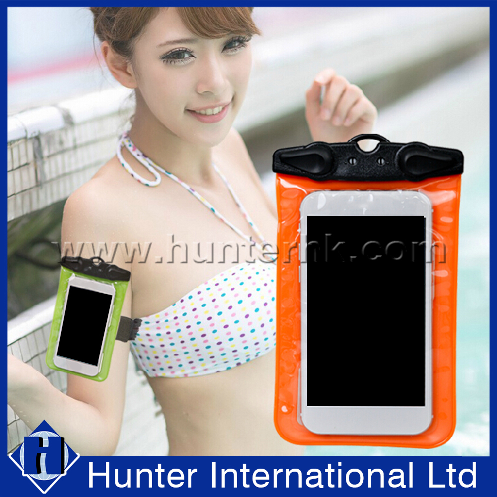 Call Phone PVC Bag Waterproof Case For iPhone 6S