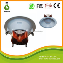 Cooper led ceiling downlight 4inch fluorescent ceiling light plastic cover with smd5630 9w