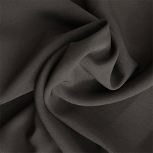 Formal black jet black Nida fabric wool peach for abaya cloth