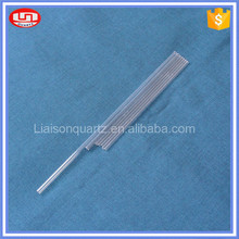 High quality thick clear large diameter quartz tube led glass tube