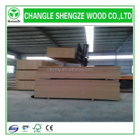 Best price with different thickness plain/raw mdf board producted from shengze wood