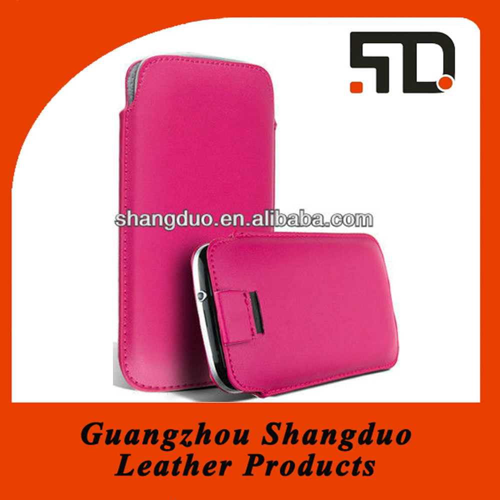 Manufacture Hot Selling Colourful Leather Wallet Case for Phone