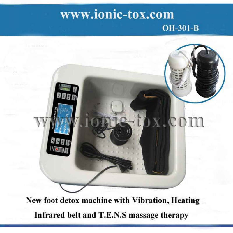2012 High Quality detox cell foot spa OH-301-B improves sexual health