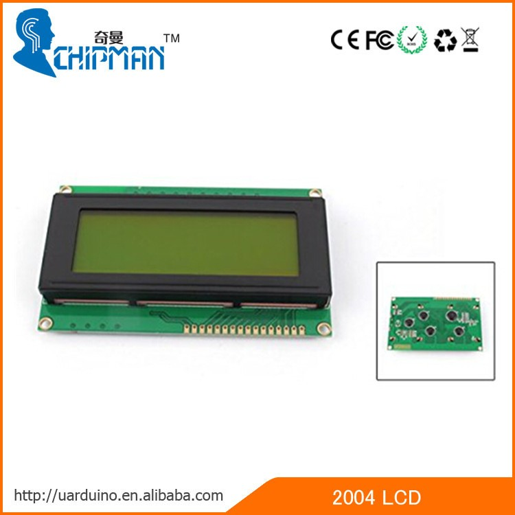 2004 Character LCD Module LCM Display TN STN Blue Backlight White Character 5V Logic Circuit