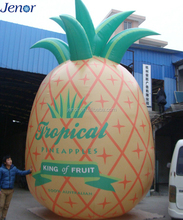 Giant Inflatable Pineapple Model Customized Logo for Advertising Fruit Decoration