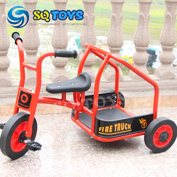 2016 Funny outdoor children pedal cargo tricycle for baby