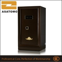 Compact ultra finger print jewellery alloy steel concealed drawer strong steel office safe furniture