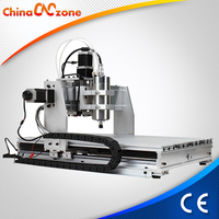 CNC 6040 1500W Spindle Desktop Mini CNC PCB Router Machine for Drilling Milling and Design for aluminum