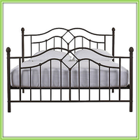 Modern Appearance And Queen Size Double Metal Bed Frame Designs