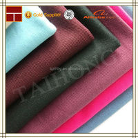wholesale price 97 cotton 3 spandex twill fabric by yard