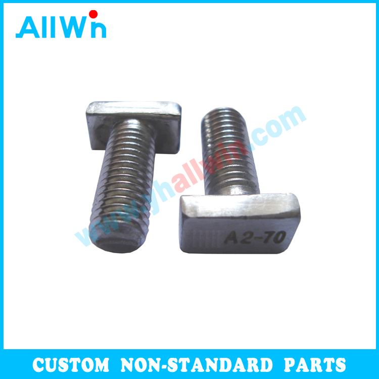 Stainless Steel 304 316 A2-50 A4-70 Bolt Nut Making Machine High Strength T Fix Black Bolt