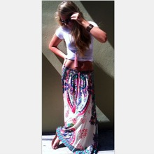 C87995A Latest Lady Fashion Skirt Design Long Maxi Skirt For Women