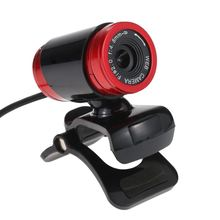 USB 2.0 50 Megapixel HD Camera Web Cam with Mic Clip-on 360 Degree for Skype Laptop Desktop Computer PC
