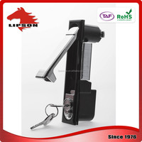 Advertising Box Network Server black powder coated swing handle lock