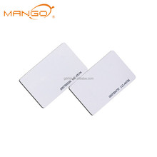 Low cost Proximity smart plastic 125khz rfid pvc blank card contactless chip card with serial number